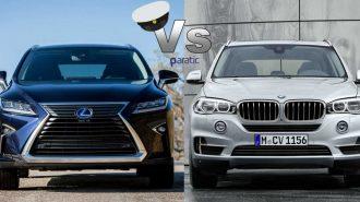 2017 Lexus RX vs 2017 BMW X5: En Sportif İki SUV'un Zorlu Karşılaşması!