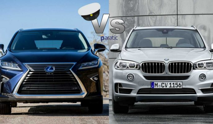 2017 Lexus RX vs 2017 BMW X5: En Sportif İki SUV\'un Zorlu Karşılaşması!