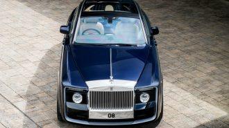 2017 Yeni Rolls Royce Sweptail: Dünya Tarihinin En Lüks ve Pahalı Arabası!