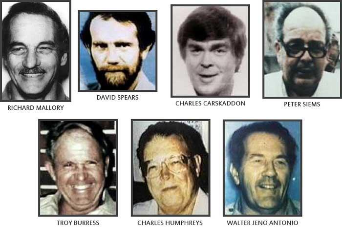 Alieen Wuornos'un Kurbanları
