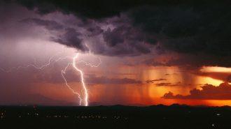 Arizona Eyaletinde Yaşanan Hem Etkileyici Hem de Korkunç Hava Olayları