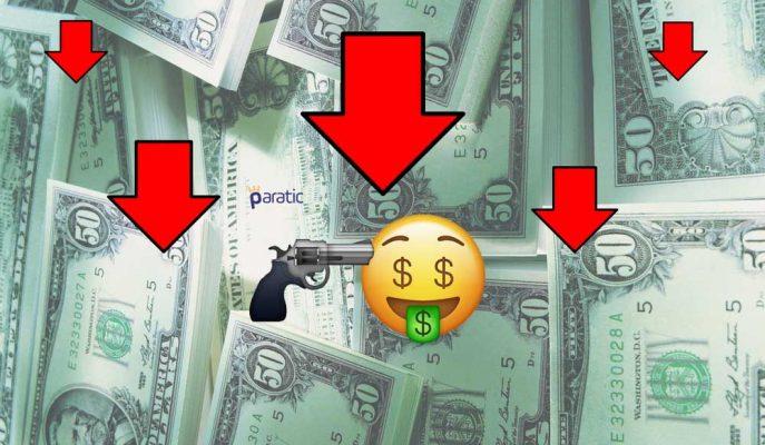 Dolar 3,60 Seviyesinde Tutunamadı!