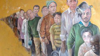 Dünya Liderleri Mülteci Olsaydı Nasıl Görünürlerdi?
