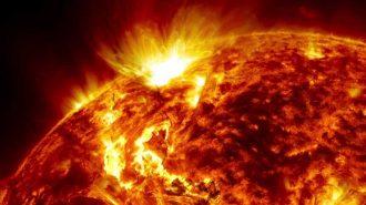 Galaksinin En Büyük Isı ve Işık Kaynağı Olan Güneş'teki Patlama Görüntüleri