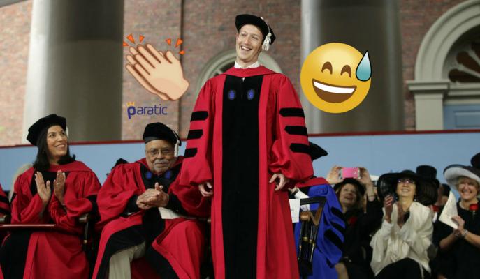 Mark Zuckerberg Sonunda Mezun Oldu