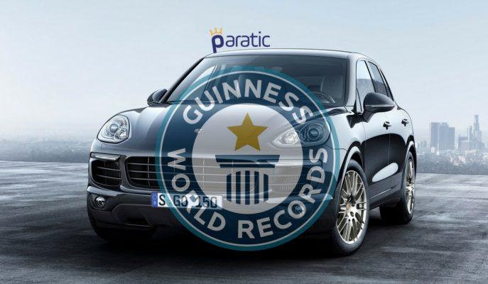 Porsche'den Kırılması Zor Yeni Bir Dünya Rekoru!