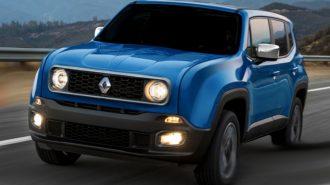 Renault Jeep Ortaklığından Doğan Yeni Bir Renegade Gelebilir!
