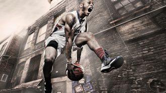 Muhteşem Hareketleri ile Büyüleyen Sokak Basketbolcuları