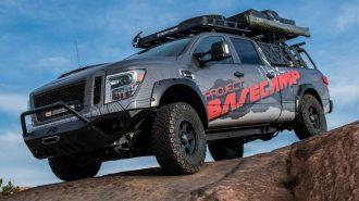 2017 Yeni Nissan Titan BaseCamp Pro-4X: Aşılamayan Arazilerin Pick-up'ı!