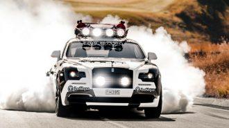 2017 Yeni Rolls Royce Wraith Kayakçı Jon Olsson Dizaynı!