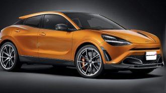 2020'de McLaren SUV Bir Modelin Sinyallerini Veriyor!