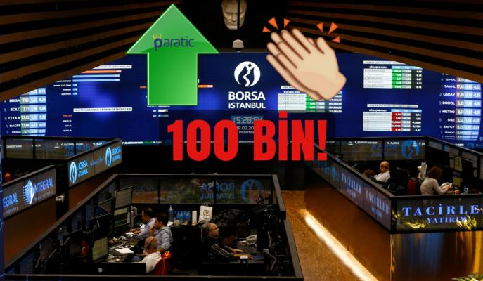 Borsa Beklenen 100 Bin Seviyesini Gördü! Şimdi Ne Olacak?