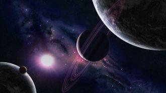 Gezegenlerin ve Galaksilerin Büyüklüklerine Göre Sıralanmış Görüntüleri