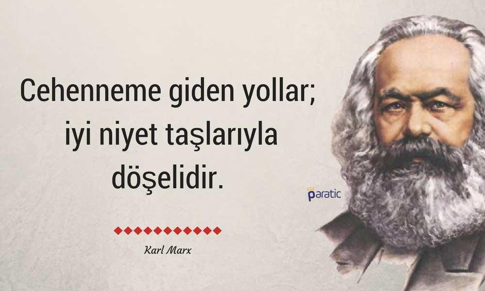 20 Efsane Sözüyle Karl Marxın Hayatı Paratic