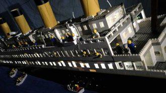 Lego Parçaları ile Yapılan Titanik Gemisi