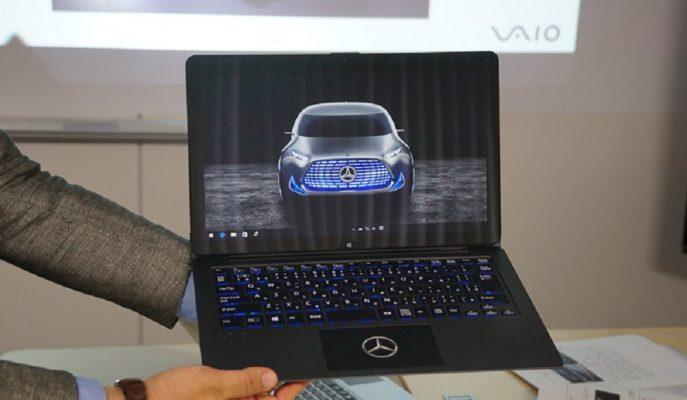 Mercedes Tutkunlarına Özel Sınırlı Sayıda VAIO Z Laptop!