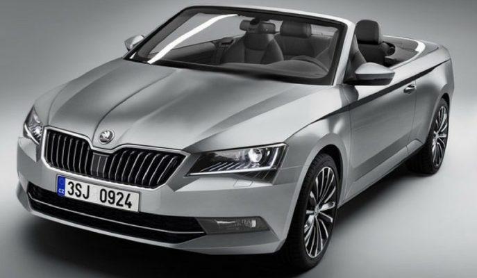 Skoda Superb'nin Cabrio Modeline mi Hazırlanıyor?