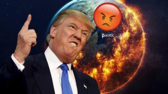 Trump Paris İklim Değişikliği Anlaşması'ndan Çekildi! Dünyadan Tepkiler Yağıyor!