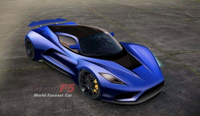Yeni Hennessey Venom F5: Bugatti Chiron'dan Hızlı Olabilir mi?