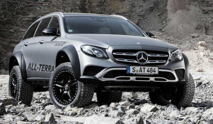 2017 Mercedes E Serisi All Terrain'e 4×4² Duruşu!