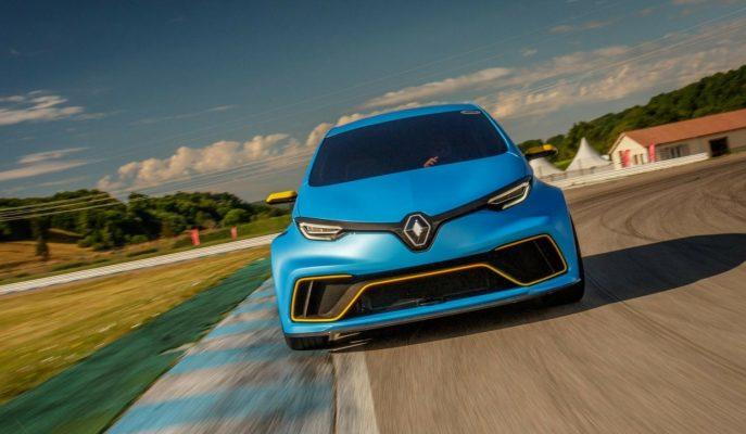 2017 Yeni Renault Zoe E-Sport: Formula Motorlu İnanılmaz Güçlü Süper Mini!