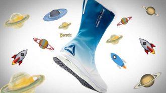 Astronotlar Uzaya Reebok Marka Ayakkabılar ile Çıkacak!