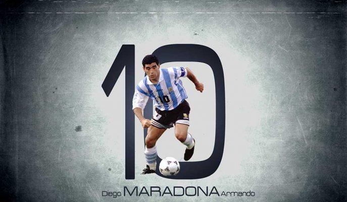 Diego Armando Maradona'nın En İyi 10 Golü ve Muhteşem Hareketleri