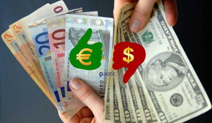 Dolar Euro Karşısında Çakıldı!