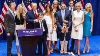 ABD Başkanı Donald Trump'ın Ailesiyle Tanışın: 5 Çocuk – 3 Eş