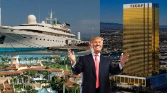 ABD Başkanı Donald Trump'ın Ultra Lüks Hayatından Görüntüler