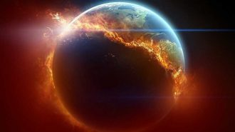 Dünya'ya Başka Gezegenler Çarpması Halinde Neler Olacağına Dair Görüntüler