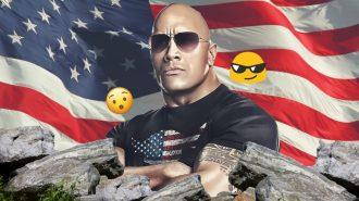 """ABD'ye """"Kaya"""" gibi Başkan Adayı: Dwayne The Rock Johnson"""