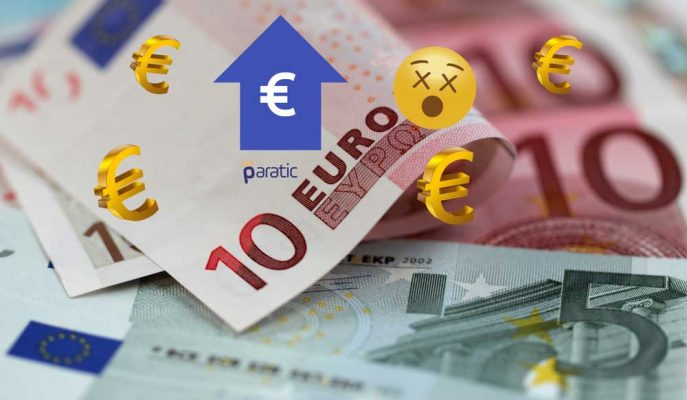 Euro 4,18 ile Tarihi Rekorunu Kırdı!