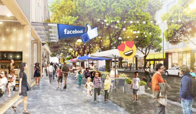 56 Dönümlük Facebook Kasabası Kuruluyor!