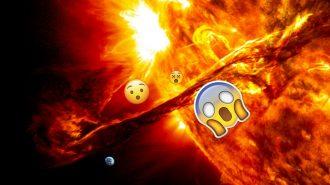 Güneş'te Dünya'dan Çok Daha Büyük Bir Delik Açıldı!