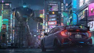 Honda'dan Civic Type-R ve Modellerine Savaş Sahneli Animasyon Reklam Filmi!