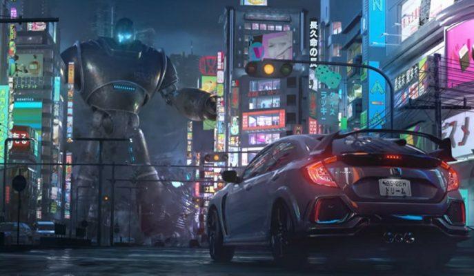 Honda\'dan Civic Type-R ve Modellerine Savaş Sahneli Animasyon Reklam Filmi!