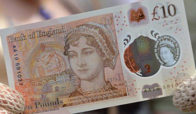 Jane Austen'ın Resminin Basıldığı Sterlin Banknotlarında Büyük Bir Hata Yapıldı!