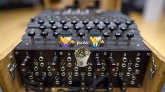 Kriptografi Profesörü Daktilo Görünümündeki Şifre Makinesiyle Servet Kazandı!