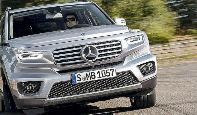 Mercedes 2019 Yılında GLB SUV için Start Veriyor!