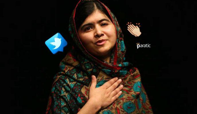 Nobel Ödüllü Barış Elçisi Malala Yusufzay İlk Tweetini Attı