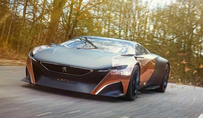 Peugeot Onyx Konsept Car: Tamamı Farklı Malzeme Yapısına Sahip Le Mans Ruhlu Araba!