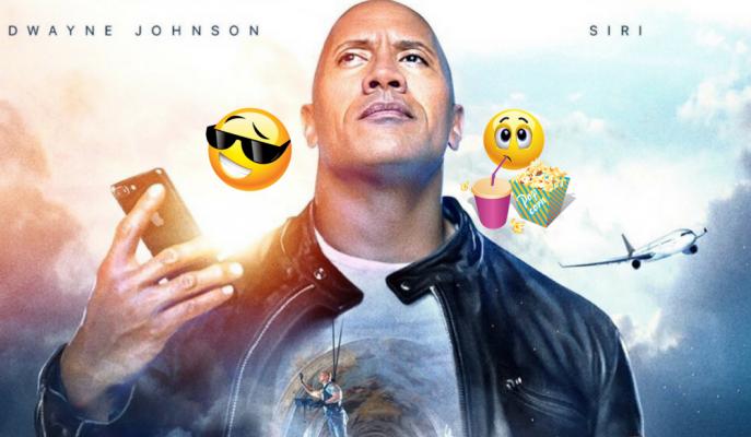 Dwayne Johnson ve Apple Ortaklığında Çekilen Aksiyon Filmi!