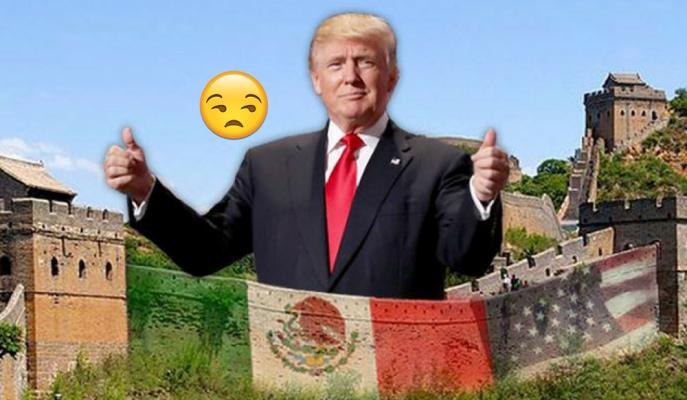 Trump'ın Meksika Duvarı İnşasına Sonbaharda Başlanacak!