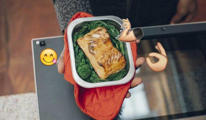Tam Bir Bekar Rüyası: Enfes Yemekler Hazırlayabilen Mikrodalga Fırın!