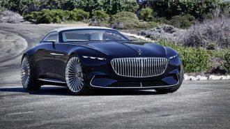2018 Mercedes-Maybach Vision 6 Cabriolet: Dünyaya Göre Fazla İleride!