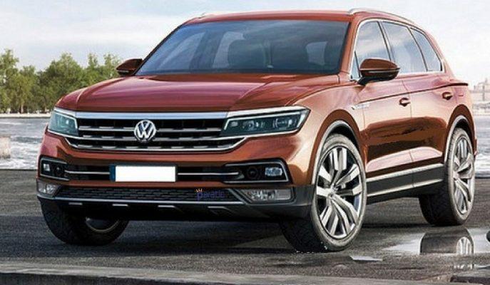 2018 VW Touareg'in Muhtemel Çıkış Fotoğrafları Geldi!