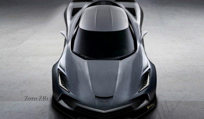 """2019 Model Corvette """"Zoro ZR1"""" için Chevrolet Kolları Sıvadı!"""