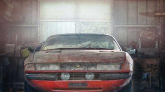 40 Yıldır Garajda Unutulan Ferrari Daytona'nın Değerini Duyunca Çok Şaşıracaksınız!