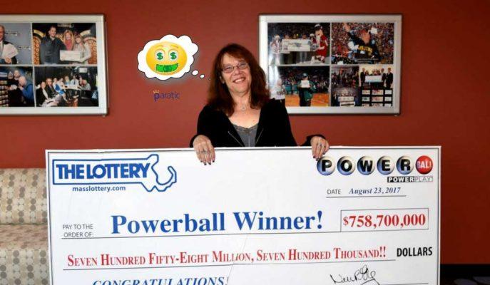 758 Milyon Dolarlık İkramiyeyi Kazanan Kadın Telefonla İstifa Etti!